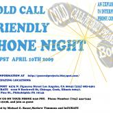 Potluck chat: about Cold Call Friendly Phone Night - Apr 14 2009