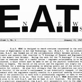 E.A.T. (Experiments in Art and Technology)